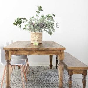 Farmhouse Table (thin legs)