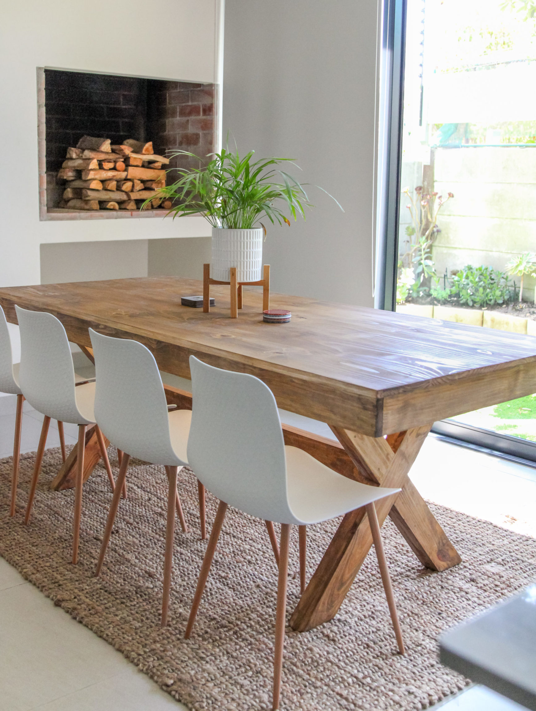 Bespoke Pine Dining Table Hand Made, Pine Dining Room Table And Chairs