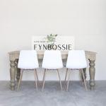 Farmhouse Table (thick legs)