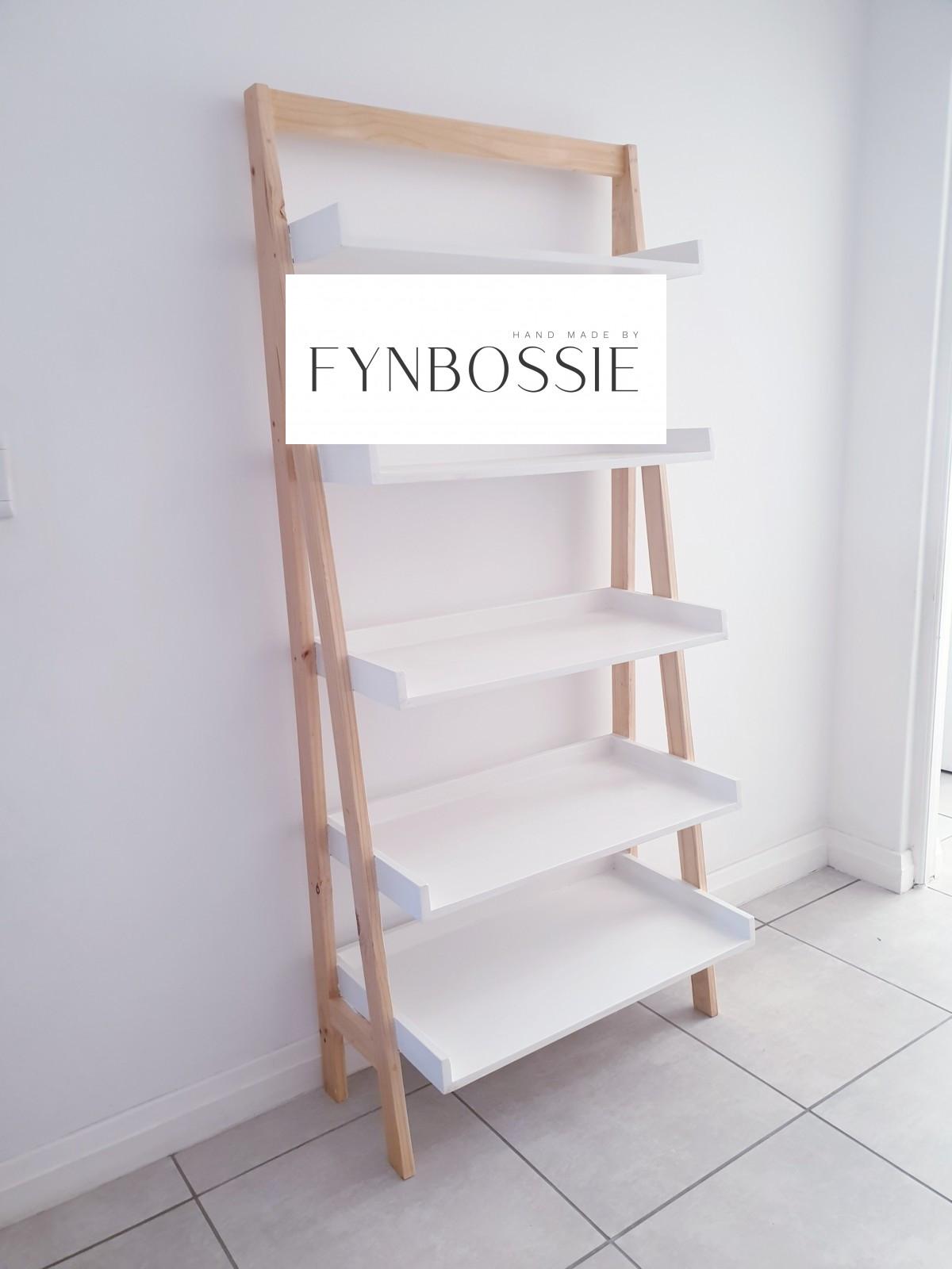 Ladder shelf