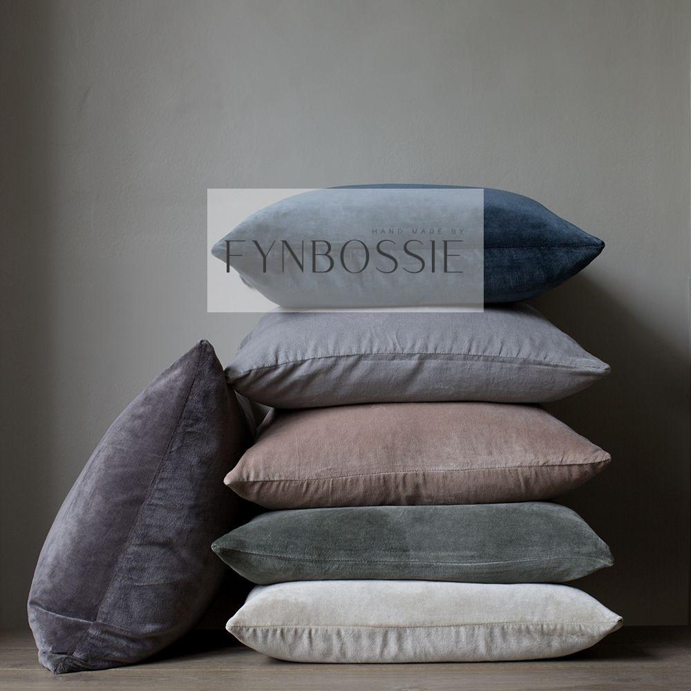 Heritage velvet scatter cushions