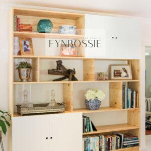 Scandi bookcase
